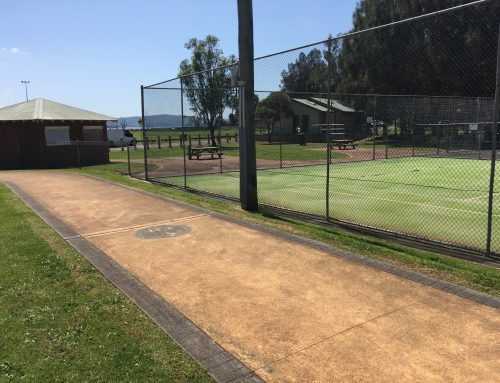 Saratoga Tennis Courts Update
