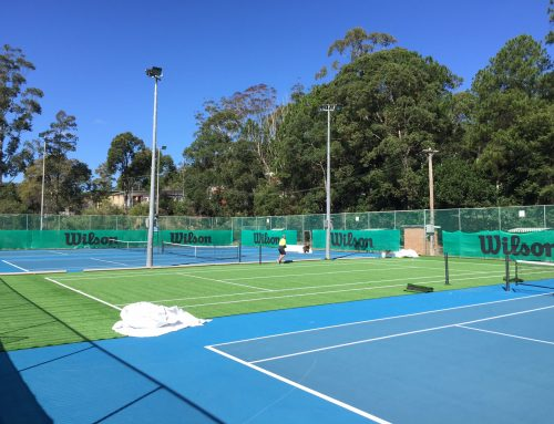 Gosford Tennis Centre Master Plan Commences