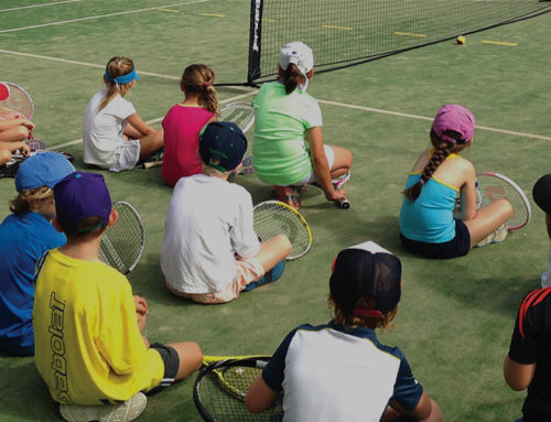 School Holiday Camps – start Tuesday and get a free T-Shirt and Racquet valued at over $50